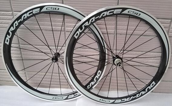 width 23mm 700c free shipping favorable sticker carbon clincher wheel 50mm alloy brake surface powerway R36 ceramic