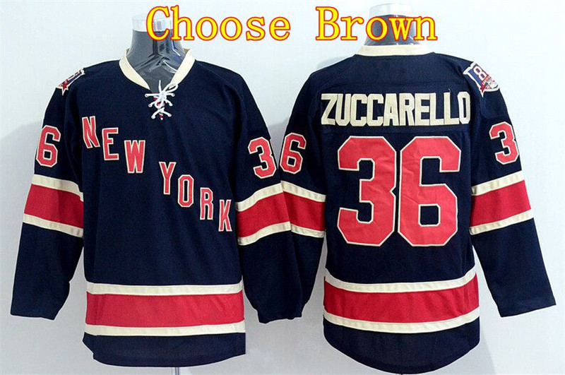 separation shoes 35fe2 6a1af Quality Assurance New York Rangers Mats Zuccarello Jersey 36 ...