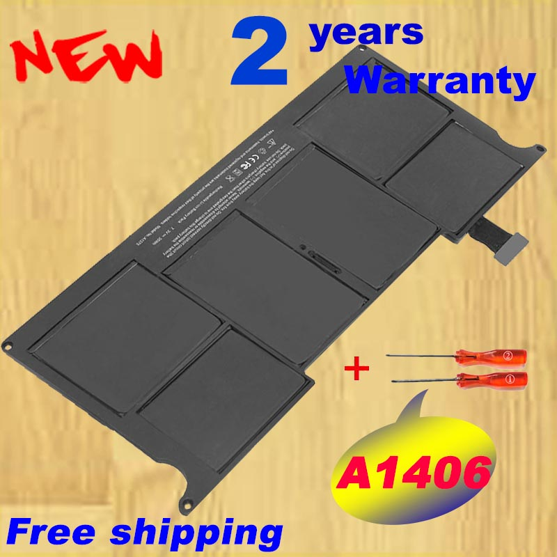 Battery A1406 battery for Apple MacBook Air 11 A1370 Mid 2011 A1465 2012 A1406 35WH 7