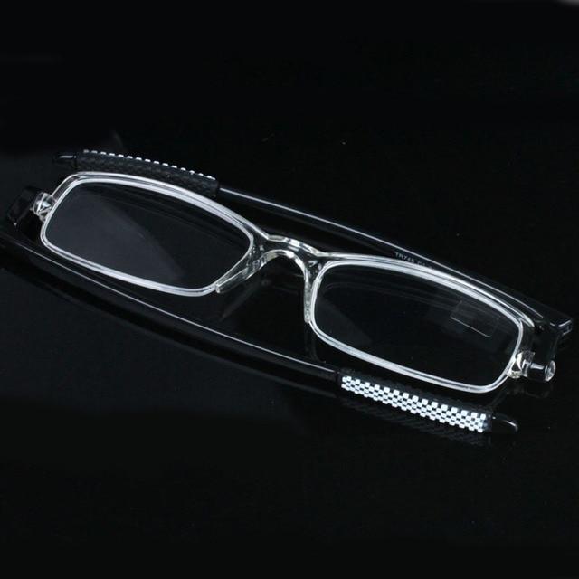 2f81318971b5 2016 Ultra-thin Clear Frame Reading Glasses Women Men Eyewear gafas de  lectura oculos de
