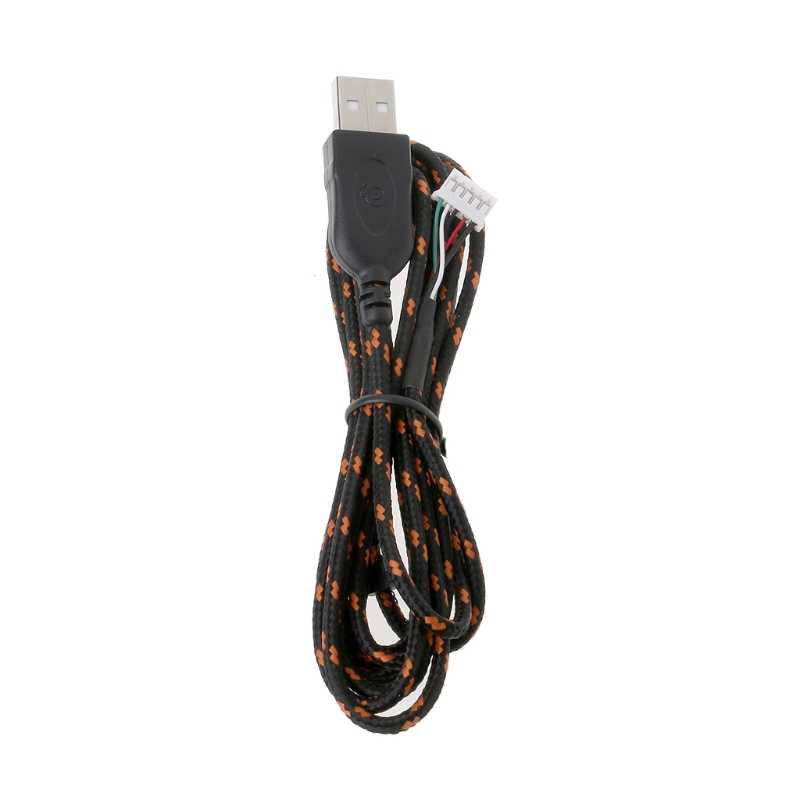 mengersty USB Mouse Cable Line Replacement Wire for SteelSeries KANA Special Mouse Lines