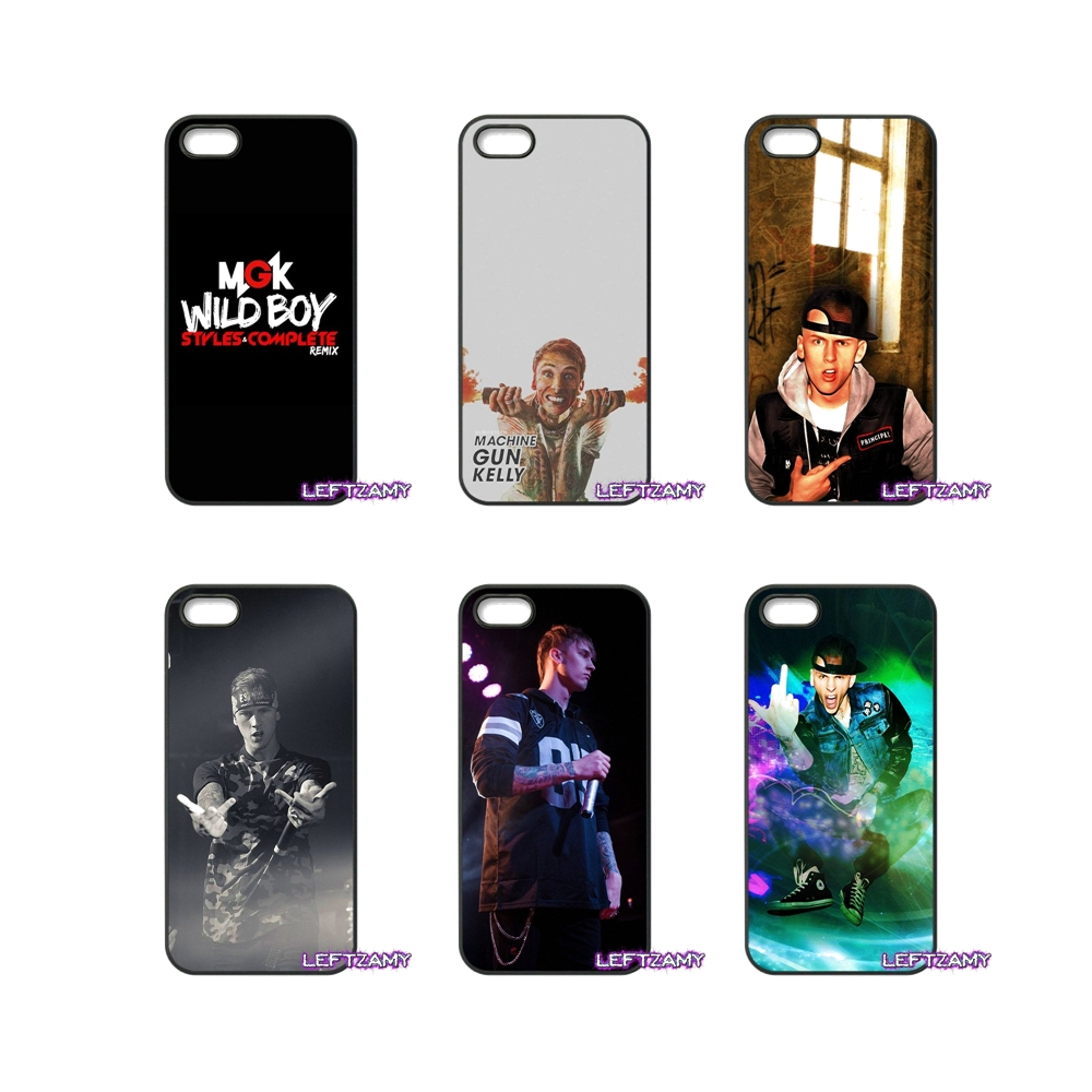 Machine Gun Kelly MGK Pop Hard Phone Case Cover For iPhone 4 4S 5 5C SE 6 6S 7 8 Plus X 4.7 5.5 iPod Touch 4 5 6