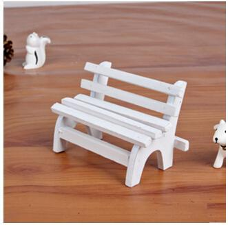 Wooden ornaments chairs shooting background wooden props mini furniture Baby toys