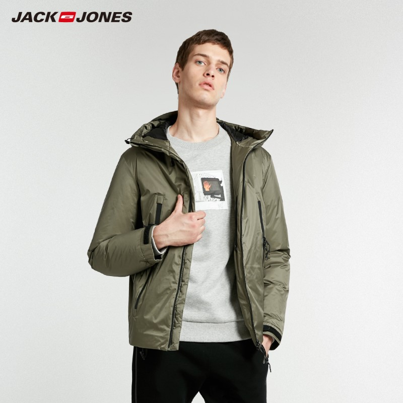 Chaqueta con capucha para hombre JackJones Parka abrigo ropa de abrigo para hombre 218412528-in Plumíferos from Ropa de hombre    1