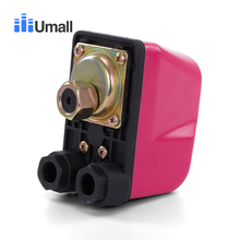 KRS-6 сверхмощный Ампер Воздушный Компрессор водяной насос Регулируемый механический переключатель давления клапан управления с низким давлением