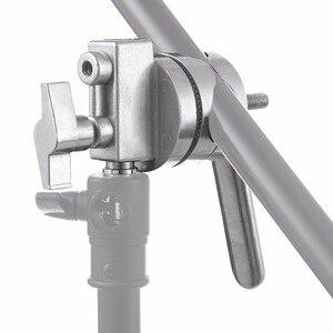 Image 5 - Металлический кронштейн Meking 4 в 1, с длинной ручкой, для удлинителя стрелы, перекрестный светильник, прочные подставки для студии