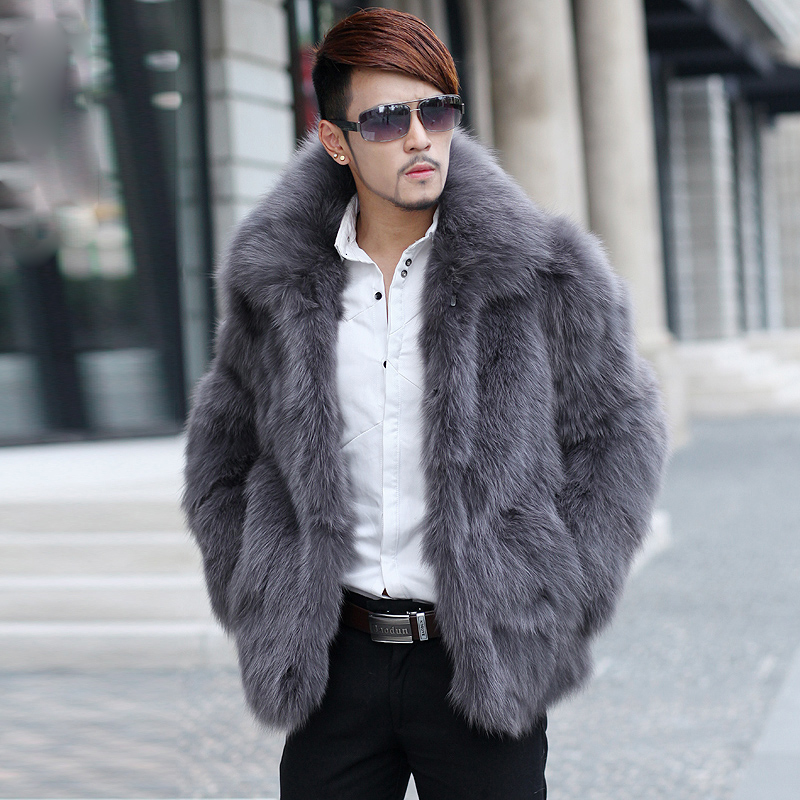 Online Buy Wholesale mens fur coats for sale from China mens fur