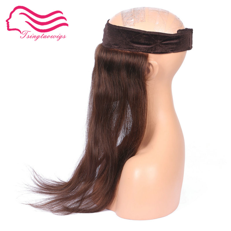 Alitsingtaowigs ,100% European  Hair  I BAND , Head Band , Lace Grip  For Jewish Wig Kosher Wigs Free Shipping(China)