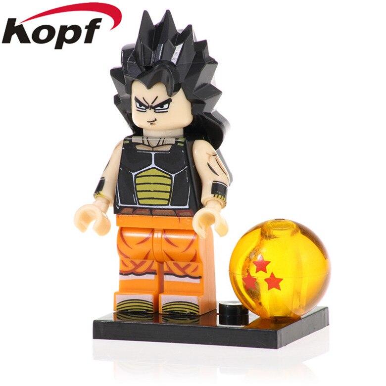 PG1395 Dragon Ball Sun WuKong POGO Son Goku Gohan Raditz Lieutenant Arno Bricks Action Collection Children Toys Building Blocks(China)