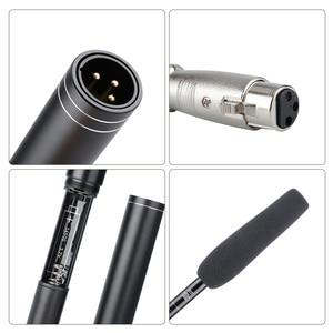 Image 4 - Ulanzi 2 en 1 entretien téléphonique fusil de chasse Microphone caméra directionnelle enregistrement vidéo micro pour iPhone Samsung Nikon Canon DSLR DV