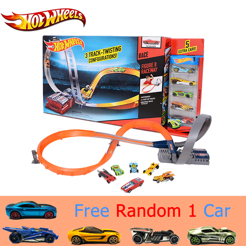 Hot Wheels Sport Car Toy Plastic Track Vehicles Kid Toys Hot Sale Hotwheels Cars Track X2586 Multifunctional Classic Boy Toy Car