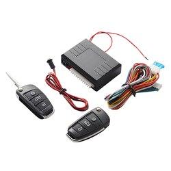 Универсальный Авто Автозапуск Системы кнопку Start Stop светодиодный брелок центральный комплект замок с дистанционным Управление