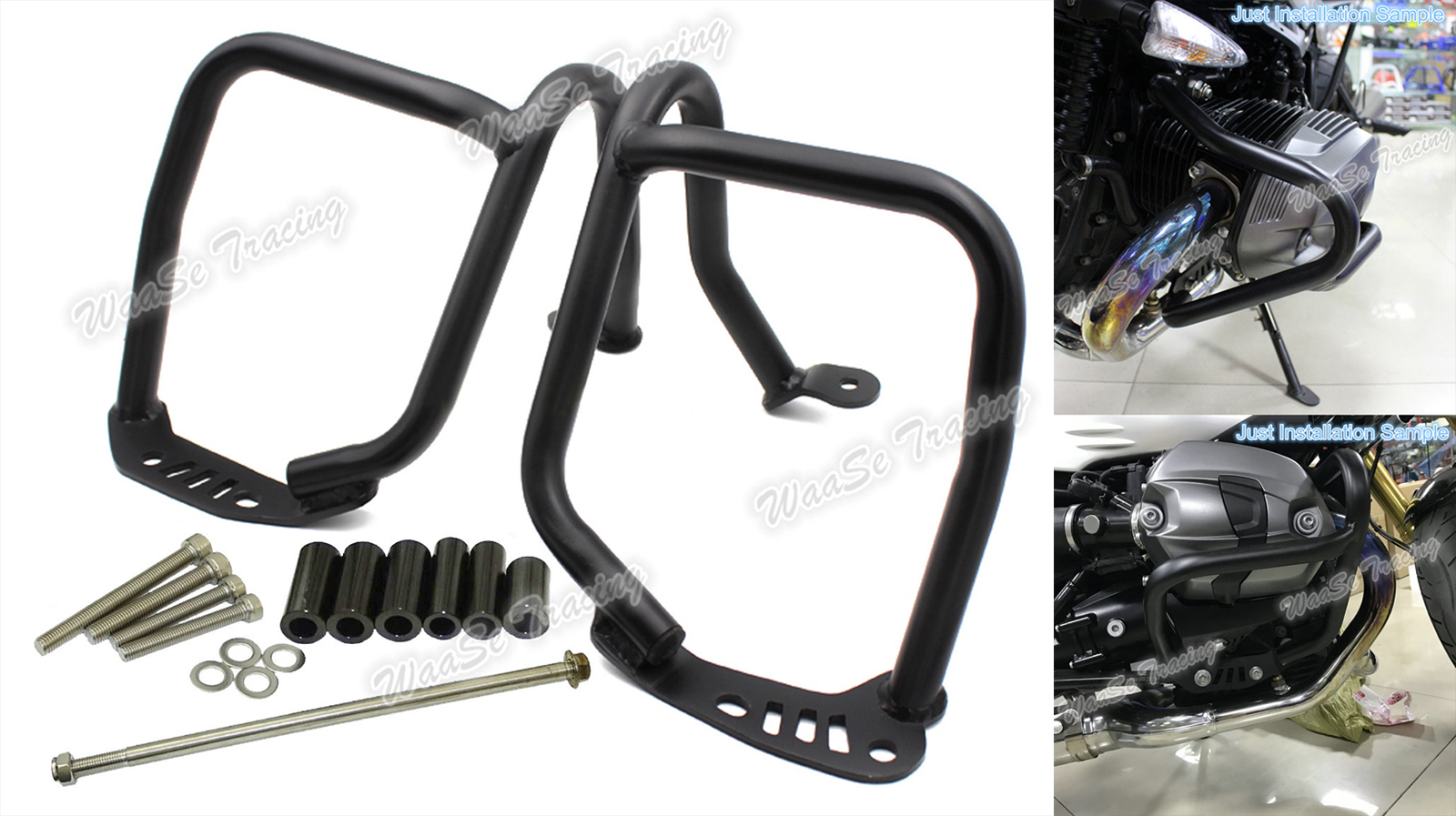 Motorcycle Left & Right Refit Tank Protection Bar Protection Guard Crash Bars Frame For BMW R1200 NINE T 2014 2015 2016 туфли nine west nwomaja 2015 1590