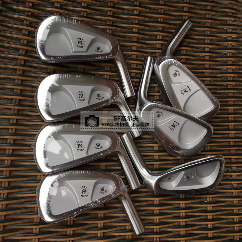 Golf Clubs MiURA 1957 Iron Set MiURA Golf Forged Irons Head Clubs 4-9Pw Head Cover right hand golf clubs dance with dragon forged iron set silve black golf forged irons 3 9pw golf head no shaft