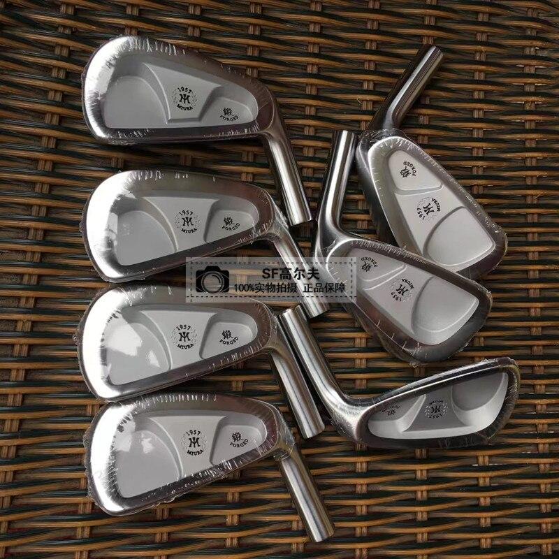 Golf Clubs MiURA 1957 Iron Set MiURA Golf Forged Irons Head Clubs 4 9Pw Head Cover