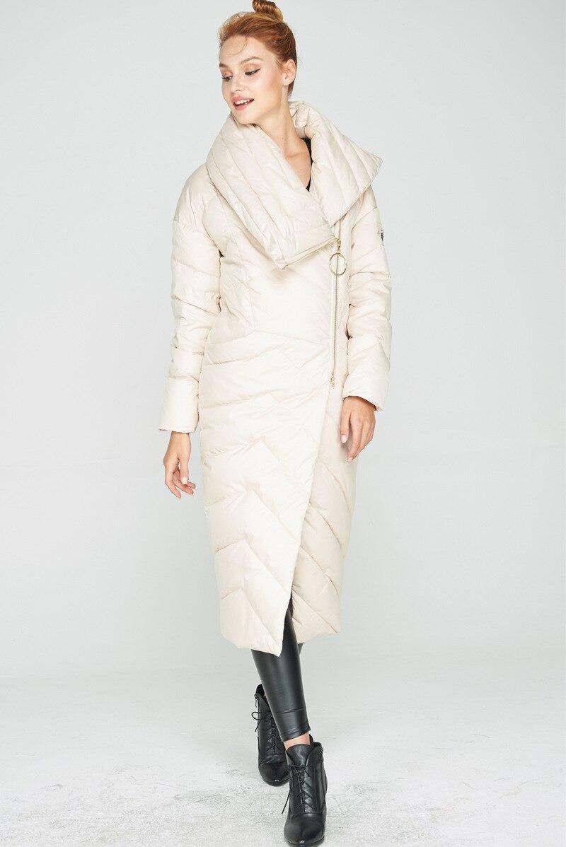 D'hiver longue Le Asymétrique 3xl Plus Laple De Bas black Veste Beige Grand Taille Vers 2018 Femmes Blue Blanc Manteau La Mode dark X 5wqggp