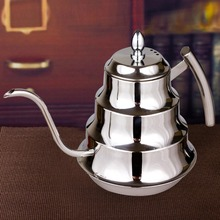 Hight Qualität Kaffeemaschine Edelstahl Kaffee Tropf Wasserkocher Teekanne 1.2L kaffeekanne Marke kaffee zubehör BS