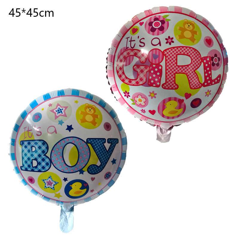 1 cái Đó Là một cậu bé/cô gái không khí bóng bé Một Đầu Tiên Giới Tính Tiết Lộ foil ballon đồ chơi trẻ em Sinh Nhật đảng trang trí Helium bóng bay
