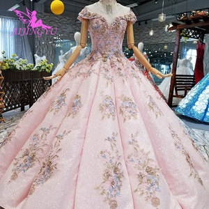 Image 2 - AIJINGYU Where To Buy Sexy Dresses Real Newest Lace German Bridal Cheap Beautiful Elegant Gowns Wedding Dress Sleeve