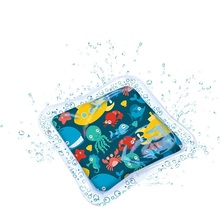 Baby Inflatable Water Play Mat Leakproof Game Pad for Toddlers Infants Sensory Stimulation Motor Skills
