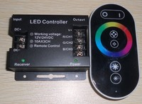 10A*3channel output led RF RGB touch controller DC12-24V input