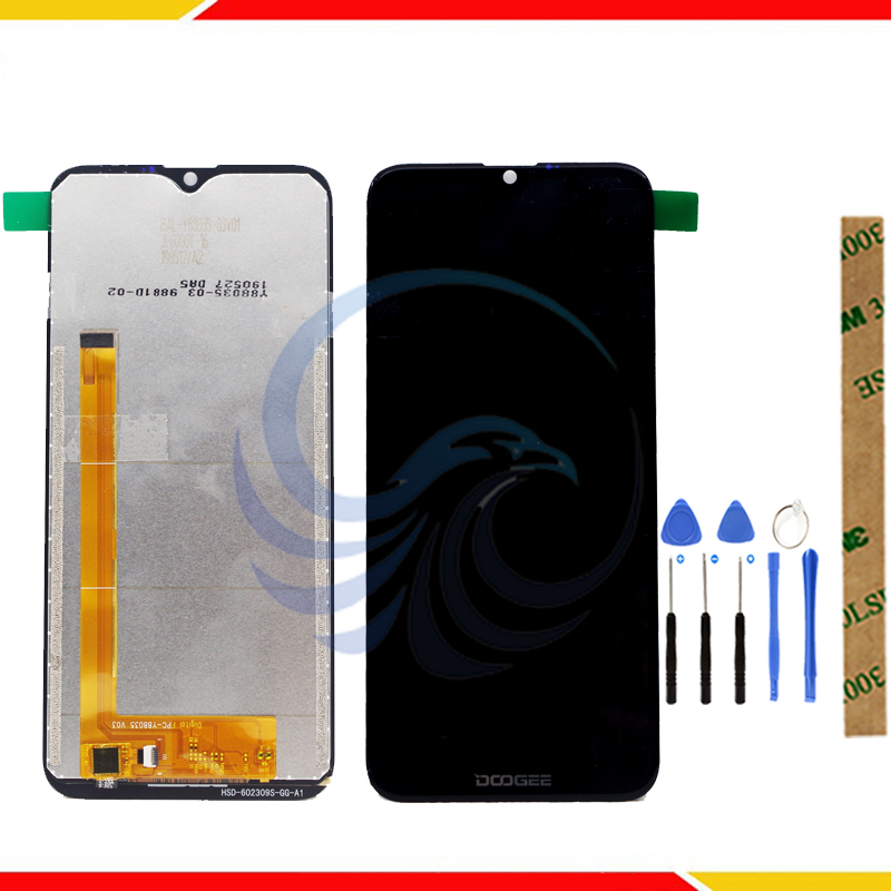 Tested LCD Display Screen For Doogee Y8 Y8C LCD Display With Frame With Touch Screen Complete Assembly