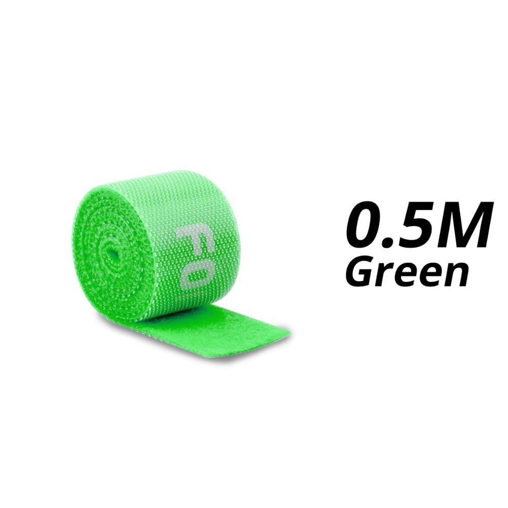 0.5m Green Velcro