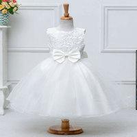 Atacado de alta qualidade beading vestidos para festa de casamento com arco de quatro cores diferentes vestido de princesa 1 lote/6 pcs L2089