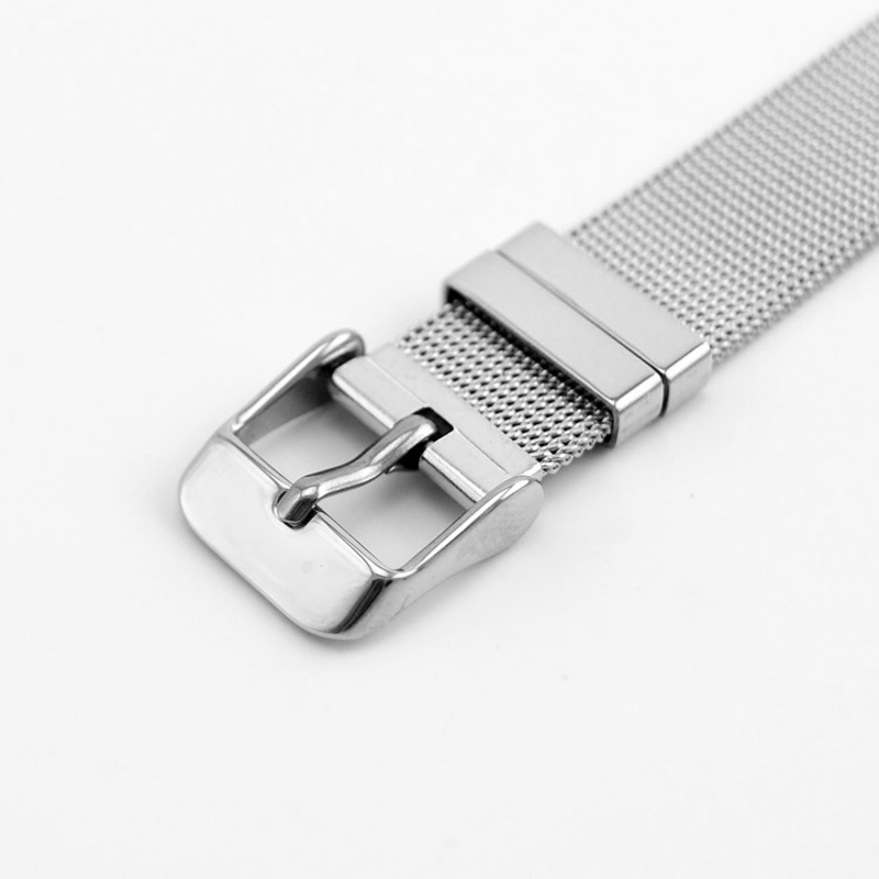 10pcs women somer sets Narrow Buckle Bracelet density Mesh watch band Casual modern elegant stainless steel Bracelet Wrist Strap