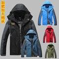 Бесплатная доставка Новый 2015 Моды ман куртки мужчины бренд пальто Плюс размер XL-3XL 4XL 5XL 6XL 7XL 8XL Мандарин Воротник одежда топы