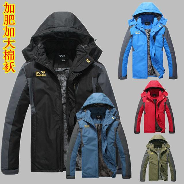 Frete grátis Novo 2015 Moda mans jaquetas homens marca casacos Mais tamanho XL-3XL 4XL 5XL 6XL 7XL 8XL Gola Mandarim roupas tops