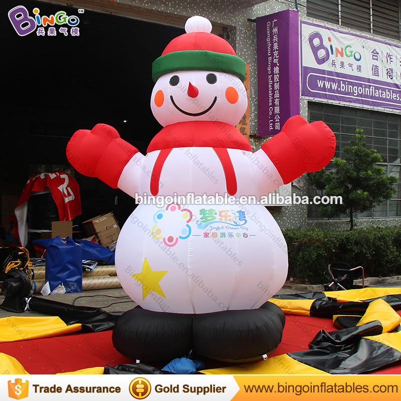 Free shipping Christmas Inflatable Snowman Model Customized Decorative blow up Snowman Replica For Backyard Toys литой диск replica legeartis concept ns512 6 5x16 5x114 3 et40 d66 1 bkf