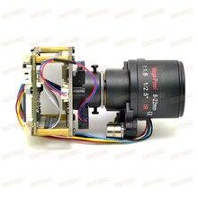 6-22 мм Автофокус с переменным фокусным расстоянием, ночное видение, 2MP 50/60fps IP Камера модуль sony IMX291 Hi3516A видеонаблюдения материнская плата SIP-E291AML-0622