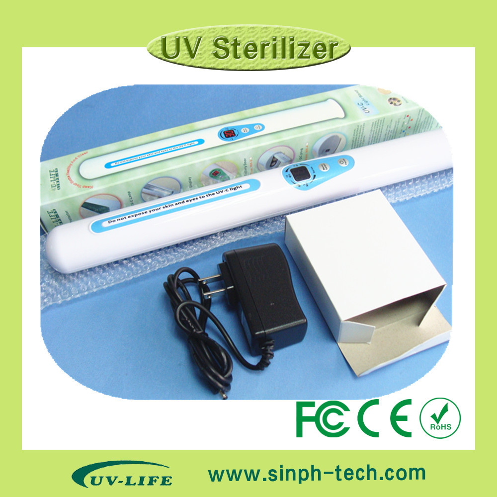 Multi-Function UV  Sterilizer Portable UV Sanitizer Hand Wand Ultraviolet Light Kill Bacteria Germ Sterilizer 55w ultraviolet light water purifier whole house uv sterilizer 12 gpm anti bacteria power 200 240v