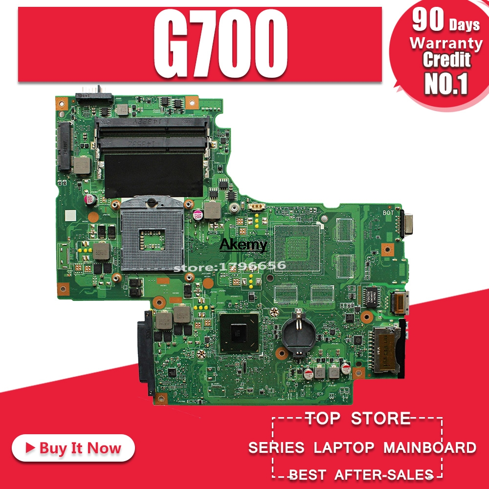 G700 For Lenovo G700 Laptop Motherboard BAMBI Mainboard 11SN0B5M11 11S90003042 Original Mainboard