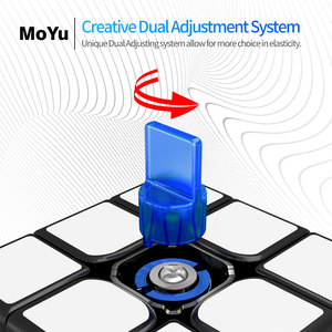 Image 3 - Original MoYu Weilong WR M 3x3x3 Weilong WR Magnetic Cube Puzzle Professional MoYu 3x3 Magnets Cubes For Speeding