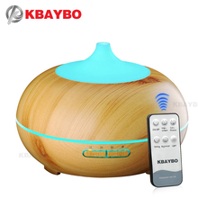 2018 New KBAYBO 300ml Aroma Diffuser Aromatherapy Wood Grain Essential Oil Diffuser Ultrasonic Humidifier For Home Room SPA