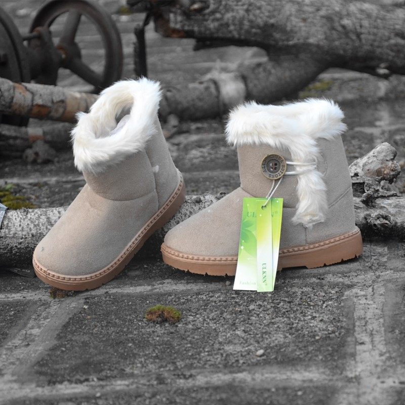 Winter-Children-Boots-Thick-Warm-Shoes-Cotton-Padded-Suede-Boots-for-Girls-Snow-Boots-Kids-Shoes-Black-Brown-Red-Pink-5