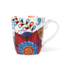401-500ml Creative Fine Hand-painted Ceramic New Bone Porcelain Mug, Cup, Milk Coffee European Style