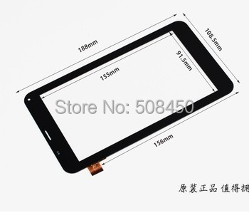 New touch screen digitizer glass touch panel replacement NJG070123ACGOB-V3 for 7 inch Cube U51GT Talk 7x Tablet Free Shipping witblue new touch screen for 9 7 archos 97 carbon tablet touch panel digitizer glass sensor replacement free shipping