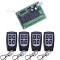 4 Channel DC 12V 4CH RF Wireless Remote Control Switch System 315 MHz 433 MHz Transmitter And Receiver