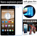 never broken Soft Glass Nano Explosion proof Screen Protector Protective Lcd Film Guard For Highscreen Power Four 4