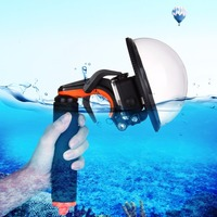 PULUZ Dome Port Waterproof Shell Mask Floating Hand Grip Tripod For GoPro Accessories Shutter Stabilizer Section Pistol Trigger