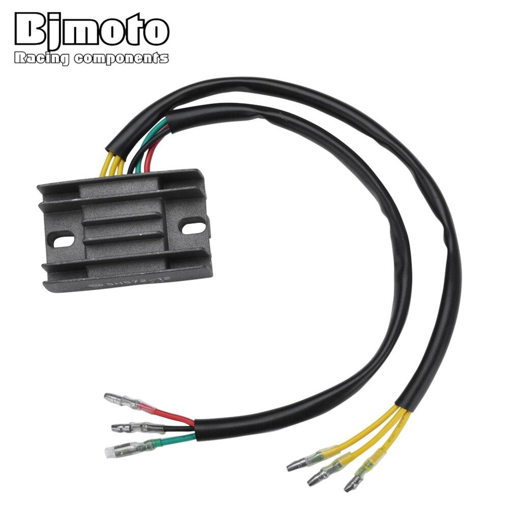 BJMOTO SH572 12 Motorcycle Voltage Regulator Rectifier For Honda XR250L 1991 1996 31600 KV6 670|Motorbike Ingition| |  - title=