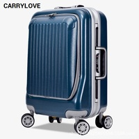 CARRYLOVE business luggage series 20/24inch size business trip PC Rolling Luggage Spinner brand Travel Suitcase