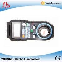 Wireless USB MACH3 MPG WHB04B 6 433MHZ Electronic Handwheel 6Axis CNC Mach3 Hand Wheel For CNC