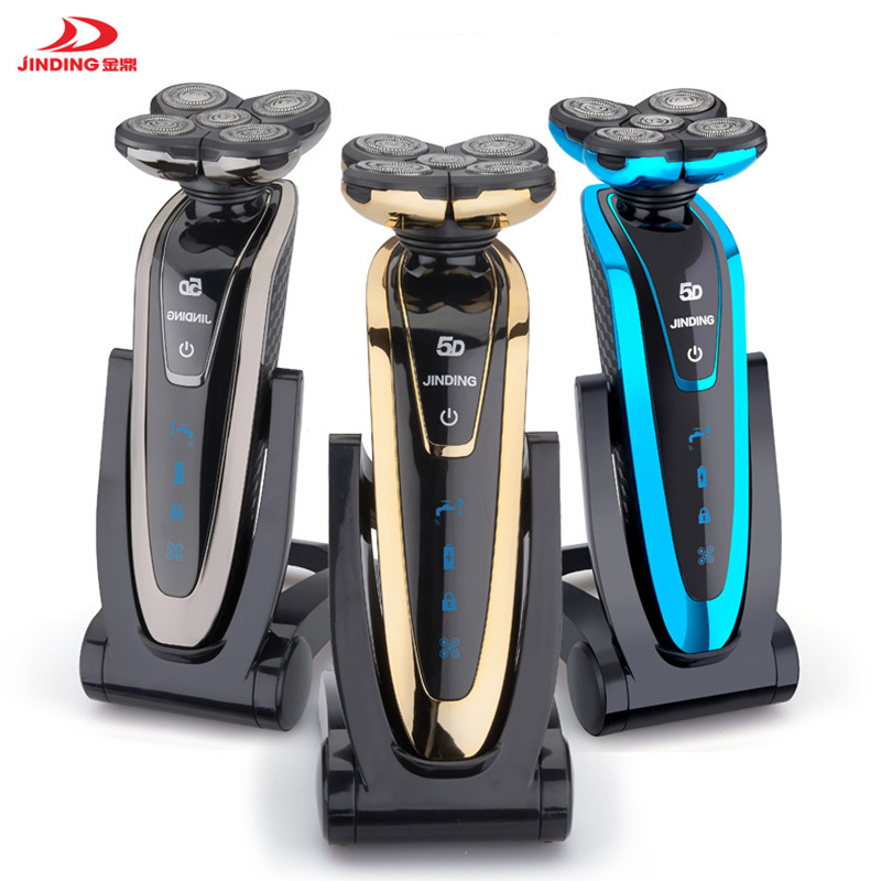 JINDING Electric Shaver Whole Body Waterproof Beard Trimmer Multiple-choice Shaver Kit Professional Male Electric Razor