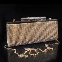 Handtaschen Direct Selling Heißer Verkauf Schminktäschchen Abendtaschen Unisex Handtasche 2015 Glänzende Glas Bohren Bankett, die Braut Tasche, tasche