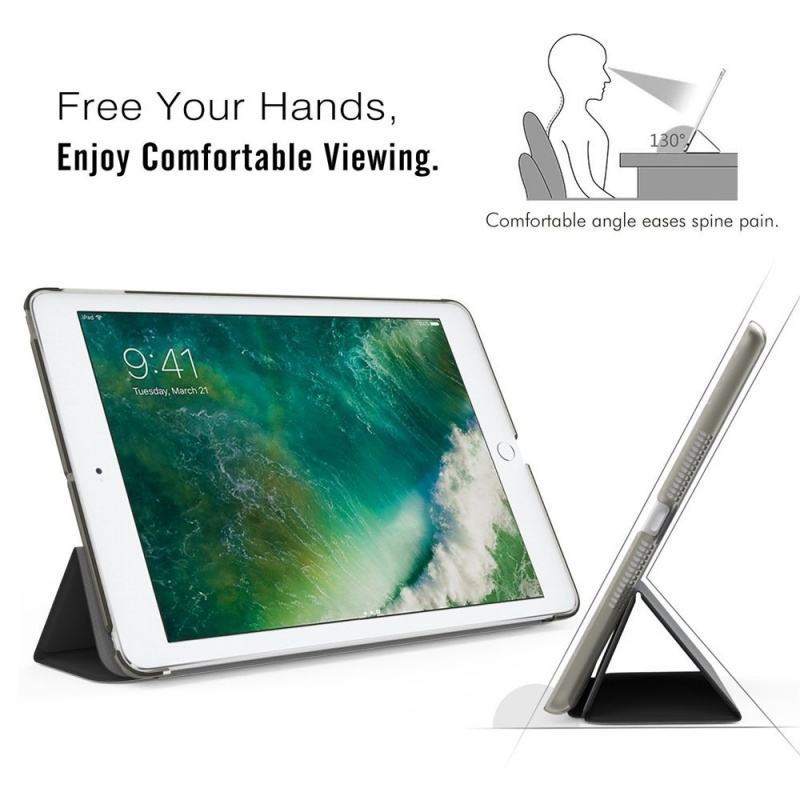 Magnetic Case for Apple iPad 9 7 2017 iPad 5th Generation A1822 A1823 WI FI 4G LTE Funda PU Leather Smart Cover Stand Flip Case in Tablets e Books Case from Computer Office