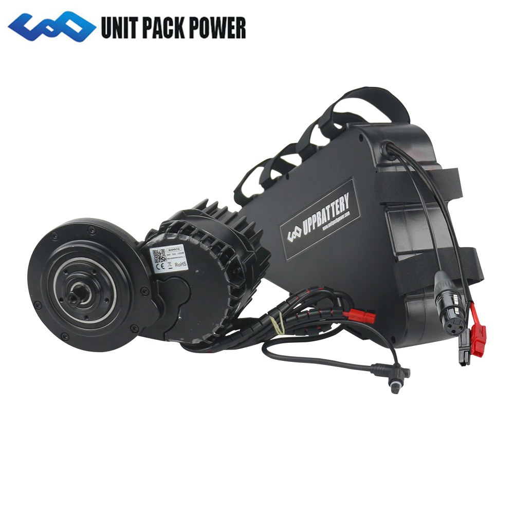 1000 W BBSHD Bafang Kits de moteur, y compris batterie 52 V 20Ah construire 1000 W EBike convertir